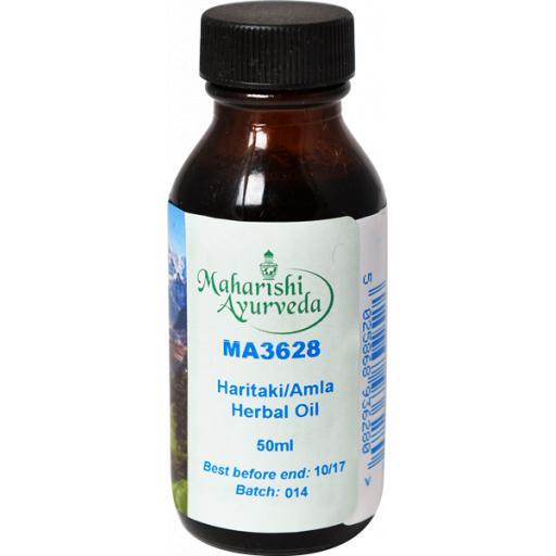 MA3628 Haritaki/Amla Herbal Oil taila, 50ml