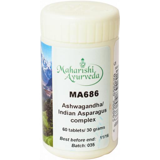 MA686 Ashwagandha/Indian Asparagus formula