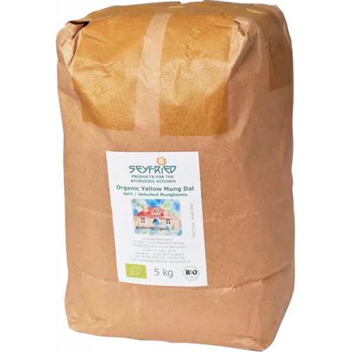Mung Dal, yellow, Organic, 5kg