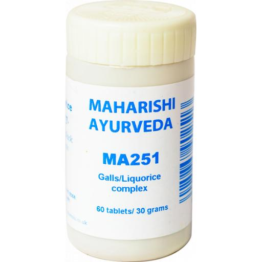 MA251 Galls/Liquorice complex