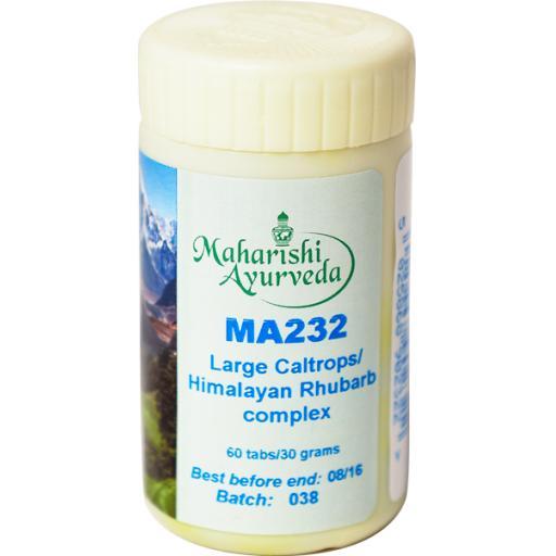 MA232 Large Caltrops/Himalayan Rhubarb formula