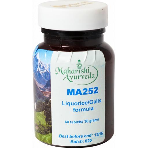 MA252 Liquorice/Galls formula, 30g