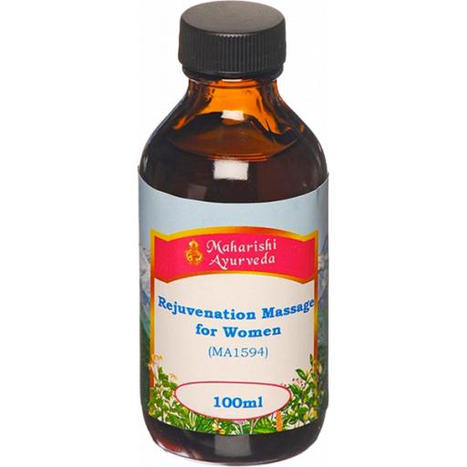 Rejuvenation Massage Oil for Women, 100ml