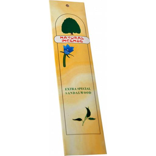 Natural Incense, Extra Special Sandalwood, 1-pack
