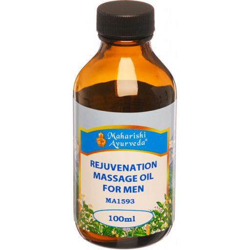 Rejuvenation Massage Oil for Men, 100ml