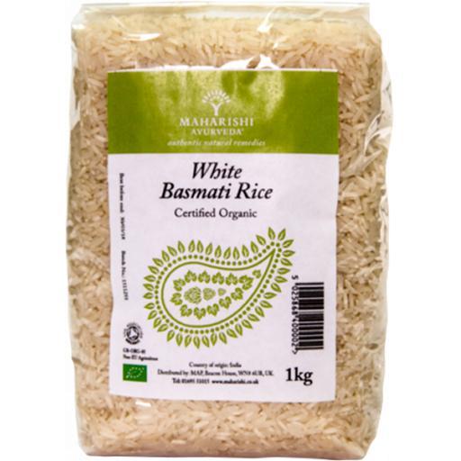 Basmati Rice, White, Organic, 1kg