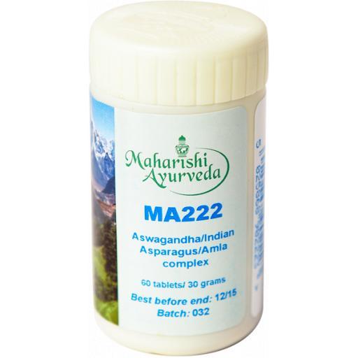 MA222 Ashwagandha/Indian Asparagus/Amla complex