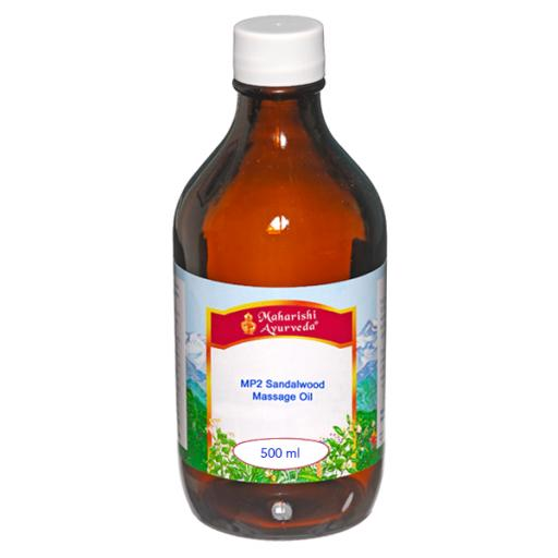 MP2 Sandalwood Massage Oil, 500ml