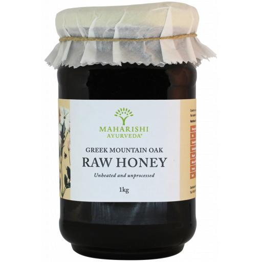 Artisan Raw Greek Mountain Oak Honey, 1kg