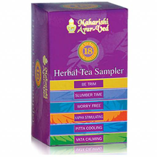 6 Tea Sample Pack, 18 packs