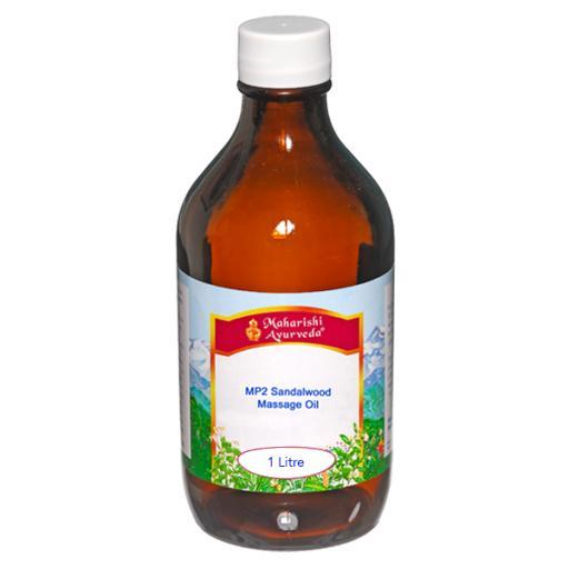 MP2 Sandalwood Massage Oil, 1Lt