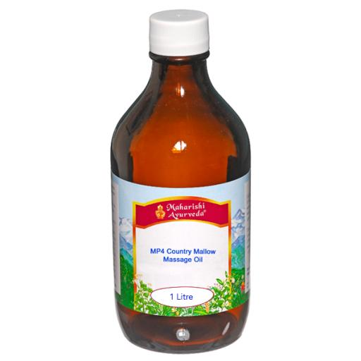MP4 Country Mallow Massage Oil, 1Lt