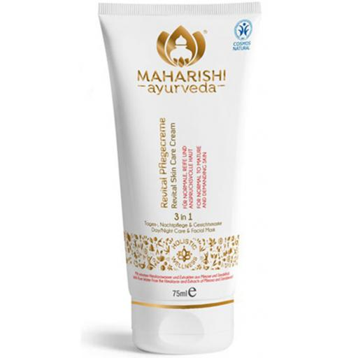 Revital Skin Care Cream (COSMOS Natural), 75ml