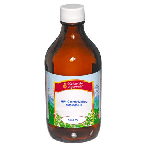 MP4 Country Mallow Massage Oil, 500ml