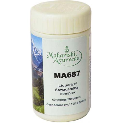 MA687 Liquorice/Ashwagandha formula