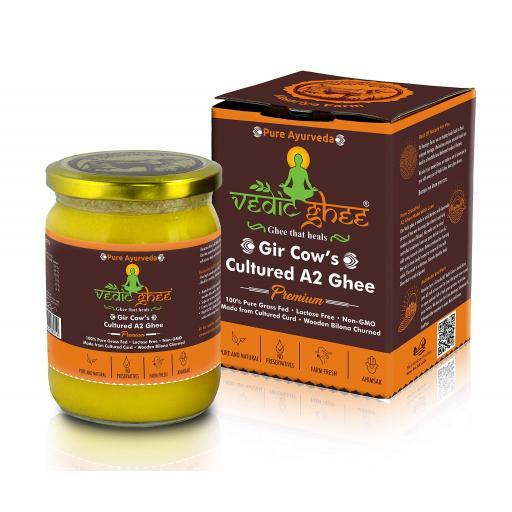 Vedic Ghee from Gir Cows, 500ml